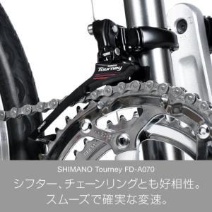 10%OFFクーポンa.n.design works  CDR216 ミニベロ ロード 20インチ 自転車 本体 16段変速 シマノ カンタン組立|nextbike|06