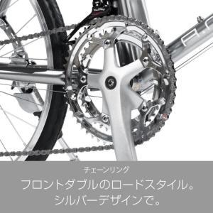 10%OFFクーポンa.n.design works  CDR216 ミニベロ ロード 20インチ 自転車 本体 16段変速 シマノ カンタン組立|nextbike|09