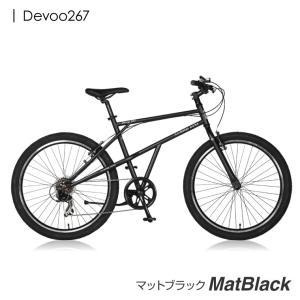 クロスバイク 26インチ 本体 MTB 自転車  Devoo267 a.n.design works カンタン組立|nextbike|02