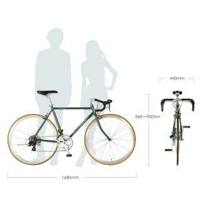 10%OFFクーポンアウトレット a.n.design works  DRC ロードバイク 本体 自転車 700c 14段変速 鉄 STI カンタン組立|nextbike|11