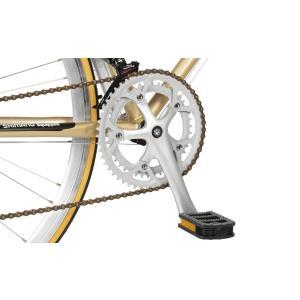 10%OFFクーポンアウトレット a.n.design works  DRC ロードバイク 本体 自転車 700c 14段変速 鉄 STI カンタン組立|nextbike|05
