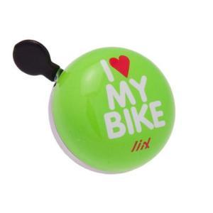 自転車 ベル ホーン Liix リークス ミニディンドンベル アイ ラブ マイ バイク Mini Ding Dong Bell I Love My Bike|nextbike