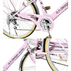 自転車 22インチ 変速 オートライト 子供 男の子 女の子 125cm〜 VP226HD a.n.design works アウトレット カンタン組立|nextbike|05