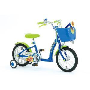 それいけ!アンパンマン 子供用自転車 14インチ 幼児車 ブルー:YA-1430 ・ レッド:YA-1431|nextcycle