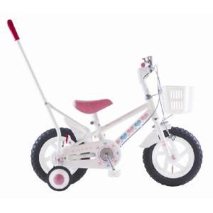 KIITOS 12インチ手押し棒付女の子用幼児車|nextcycle
