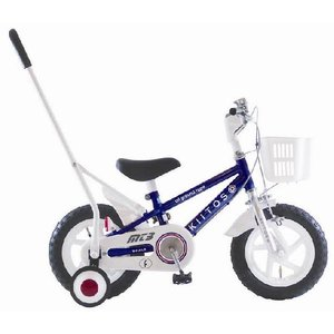 KIITOS 12インチ手押し棒付男の子用幼児車|nextcycle