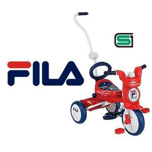 (ポイント3倍) FILA(FL-TRI 3) カジキリ機構式簡単折畳み三輪車 |nextcycle