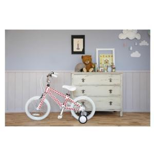 フェンダー付 自転車 Graphic Design(軽量アルミフレーム) arcoba アルコバ 16インチ幼児車 ブレーキ・ホワイトパーツ 子ども用自転車 送料無料 補助輪付 nextcycle