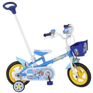 2014年モデル M&M(エムアンドエム) 子供用自転車(補助輪付き)ロボカーポリー12D 12インチノーパンクタイヤ 幼児車 送料無料】|nextcycle