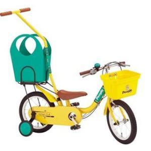 ピープル すぐ漕げる 14インチ  YA-1714  幼児車<いきなり自転車/カジトリ式/ショッピング/14インチ>(サンフラワー)|nextcycle