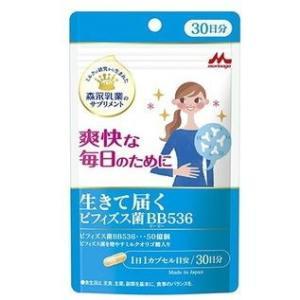 [ゆうパケット送料無料] 森永乳業 生きて届く ビフィズス菌BB536 30粒|nextmove