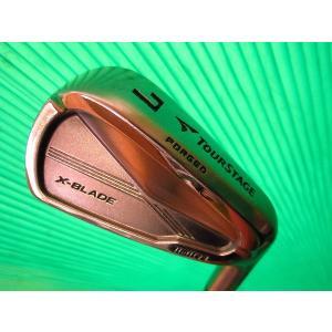 中古 ゴルフクラブ BRIDGESTONE ブリヂストン アイアン TOURSTAGE ツアーステージ X-BLADE limited リミテッド MODUS3 S リシャフト品 4〜P 7本セット