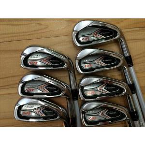 中古 ブリヂストン アイアン TOURSTAGE X-BLADE GR2012 4I、5-P 7本セット カスタム品 FUBUKI AX i425ct S メンズ  ゴルフクラブ