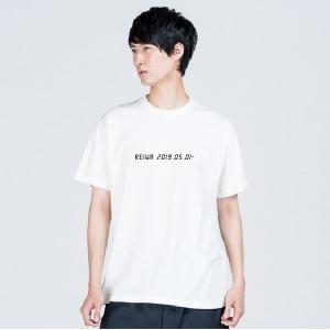 令和元年Tシャツ 【2019.05.01】の文字をお好きな文字に変更してオリジナルプリントします。 ...