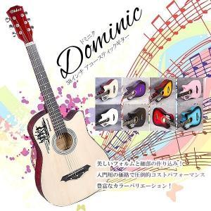 アコースティック ギター 入門用 楽器 ET-DOMINIC