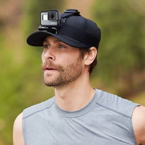 GOCOUP アクションカメラ ヘッドストラップ マウント互換アクセサリー調節可能 頭部固定ベルト ...