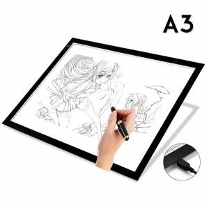トレース台 LED A3 ライトテーブル 薄型 調光 可能 USB 給電 イラスト 絵写し 漫画 測量 アニメ 目盛り付き TRACELED|nexts|04