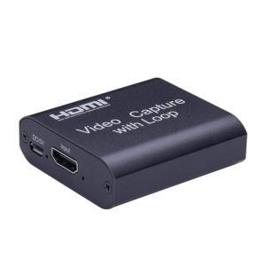 キャプチャーボード 1080P ゲーム キャプチャー HDMI To USB 3.0 キャプチャカード レコーダー ボックス デバイス PC 4K HD XBJ-450