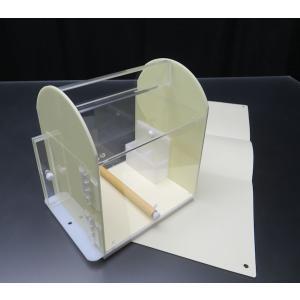 ネオホスピタルキャリー最小 20×15×22cm 本体カバーシート・エサ入れ水差し付|nexxtshop