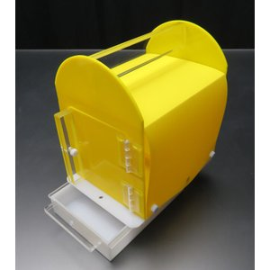 ネオホスピタルキャリー最小 20×15×22cm 本体カバーシート・エサ入れ水差し付・引出し仕様|nexxtshop