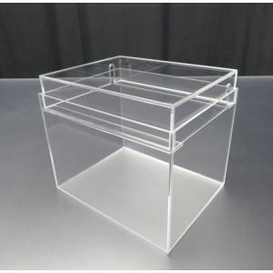 小型展示水槽 幅20cm×奥行16cm×高さ17cm 底・バック透明マット(すりガラス調)|nexxtshop