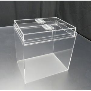 小型展示水槽 幅25cm×奥行18cm×高さ25cm 底・バック透明マット(すりガラス調)|nexxtshop