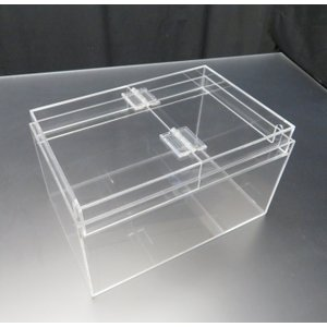 小型展示水槽 幅30cm×奥行20cm×高さ17cm オール透明|nexxtshop