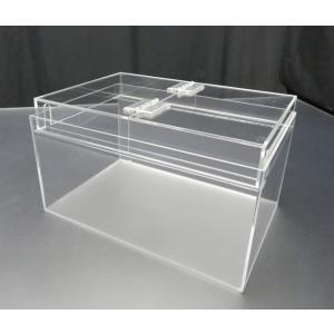 小型展示水槽 幅30cm×奥行20cm×高さ17cm 底・バック透明マット(すりガラス調)|nexxtshop