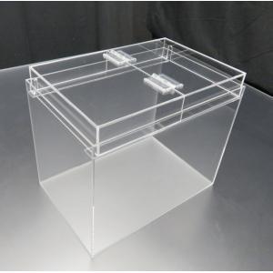 小型展示水槽 幅30cm×奥行20cm×高さ25cm 底・バック透明マット(すりガラス調)|nexxtshop