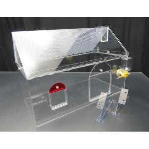 ECBY 餌やり小窓のゴールデンハムスターケージ ベーカリーショップ屋根・冬セット|nexxtshop