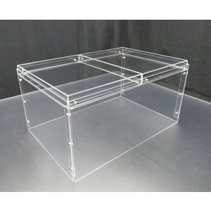 B 組み立て式アクリル展示ケース 90×60×高さ45cm|nexxtshop