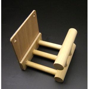 モモンガ用 木製ステージ 丸棒タイプ|nexxtshop