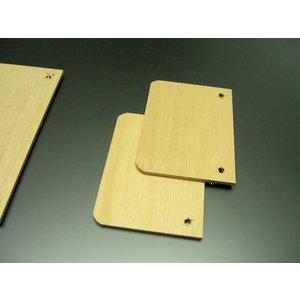 交換用 移動式木製棚14cm×10cm( 取り付けパーツ D用) 2枚セット nexxtshop
