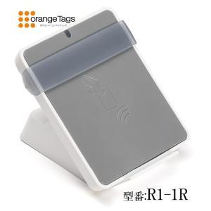 【追加オプション】業務用 NFCリーダライタR1-1R(卓上設置台/カードホルダー付属)|nfc-card-felica