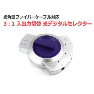 光デジタルセレクター 光角型ファイバーケーブル対応 3:1入出力切替|nfj