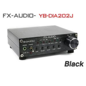 FX-AUDIO- YB-DIA202J『ブラック』|nfj
