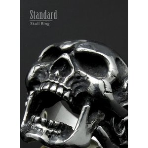 リング スカルリング Roaring Skull Ring ローリング スカル リング|nfw