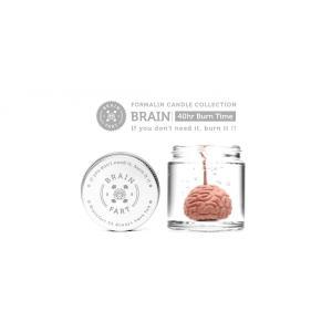キャンドル ろうそく Formalin Candle Collection Brain ホルマリン キャンドル コレクション ブレイン 脳みそ|nfw