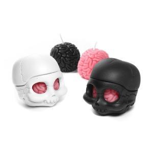キャンドル ろうそく Cranial Capacity Skully Brain Set クラニエル キャパシティ スカリー ブレイン セット|nfw