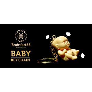 キーチェーン Cream Baby Keychain クリーム ベビー キーチェーン キーホルダー|nfw