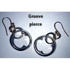 Groove Pierce グルーヴ ピアス 揺れる フープ プチプラ ペア セット キュート かわいい きれい|nfw