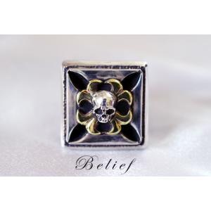 指輪 スカルリング Belief ビリーフ|nfw
