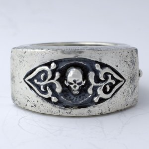 指輪 スカルリング [rude] ルード スカル skull skullring silver925|nfw
