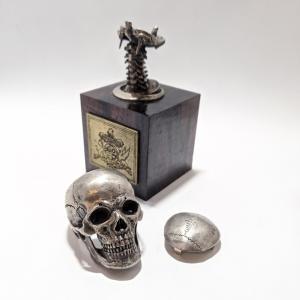 指輪 スカルリング GRYPHON Anatomical Skull Ring [A] グリフォン アナトミカル スカル リング|nfw