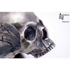 指輪 スカルリング Anatomical Skull Ring without Joe アナトミカル スカル リング ウィズアウト ジョー|nfw