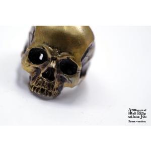 指輪 スカルリング Anatomical Skull Ring without Joe 【真鍮】アナトミカル スカル リング ウィズアウト ジョー|nfw