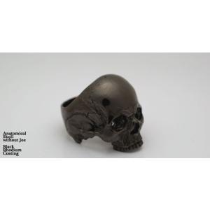 指輪 スカルリング Anatomical Skull Ring without Joe【Brack Rodium Coating】アナトミカル スカル リング ウィズアウト ジョー nfw