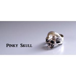 指輪 スカルリング GRYPHON PINKY SKULL グリフォン ピンキー スカル|nfw