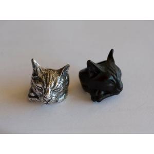 リング 眠り猫 ねこ 猫 アニマルリング 動物リング アメリカンショートヘア ベンガル ロシアンブルー 雑貨 グッズ|nfw
