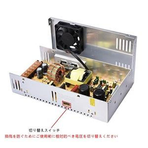BIQU直流安定化電源 AC DC 12V コンバーター 安全保護 回路 装置 最大 (30A) 大パワー 多用途|ngo-worksstore